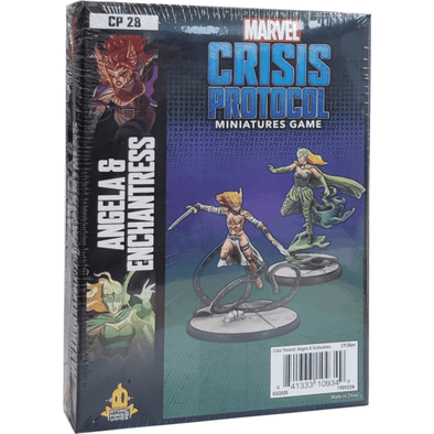 Marvel - Crisis Protocol - Angela & Enchantress available at 401 Games Canada