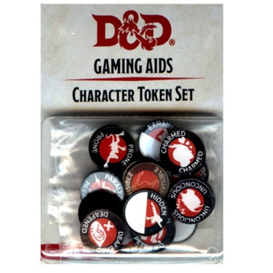 Dungeons and Dragons 5th Edition - Character Token Set - 401 Games