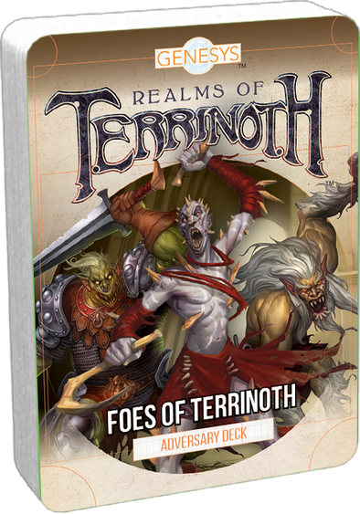 Genesys - Foes Of Terrinoth Adversary Pack