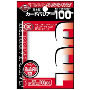 Buy KMC - Standard Size - Clear 100ct and more Great Sleeves & Supplies Products at 401 Games