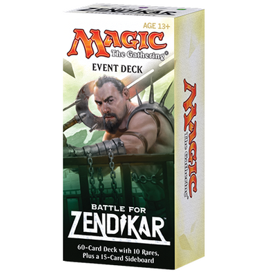 Buy MTG - Battle for Zendikar - Event Deck and more Great Magic: The Gathering Products at 401 Games