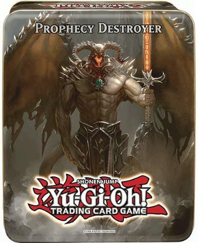 Yugioh - Prophecy Destroyer Collectible Tin 2012 available at 401 Games Canada