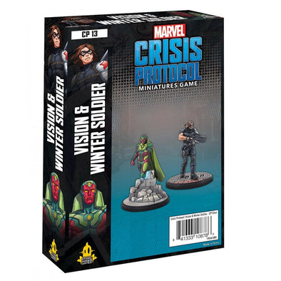 Marvel - Crisis Protocol - Vision & Winter Soldier - 401 Games