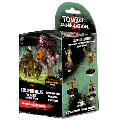 Dungeons and Dragons Minis Icons of the Realm: Tomb of Annihilation Booster Pack - 401 Games