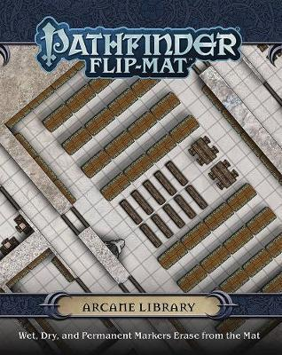 Buy Pathfinder Flip Mat: Arcane Library and more Great RPG Products at 401 Games