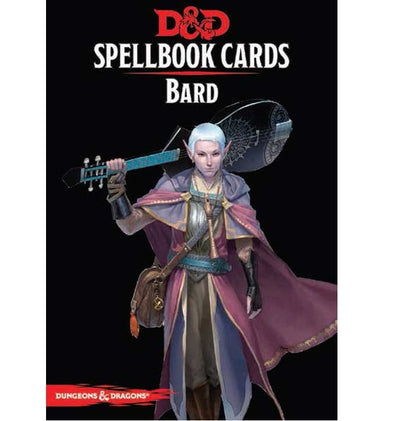 Dungeons and Dragons 5th Edition - Spellbook Cards - 2nd Edition - Bard - 401 Games