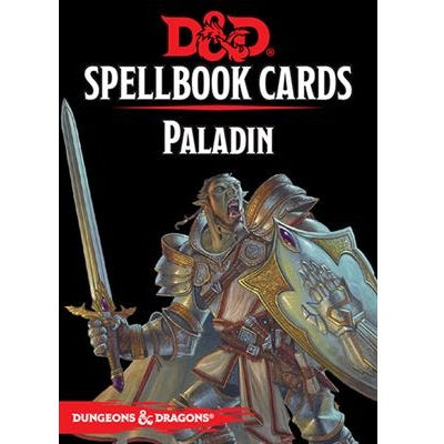 Dungeons and Dragons 5th Edition - Spellbook Cards - 2nd Edition - Paladin - 401 Games