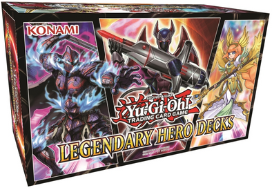 Yugioh - Legendary Hero Decks available at 401 Games Canada