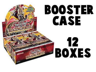 Yugioh - Blazing Vortex Booster Case - 1st Edition available at 401 Games Canada