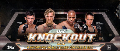 Buy 2016 Topps UFC Knockout Hobby Box and more Great Sports Cards Products at 401 Games