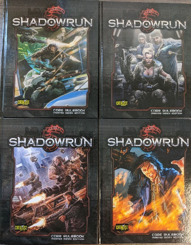 Shadowrun 5th Edition - Core Rulebook [Hard Cover] 5th Printing