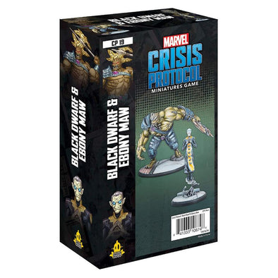 Marvel - Crisis Protocol - Black Dwarf & Ebony Maw available at 401 Games Canada