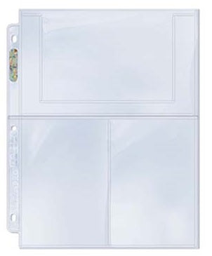 Buy Ultra Pro - Binder Pages - 3 Pocket Pages - 100ct Clear and more Great Sleeves & Supplies Products at 401 Games