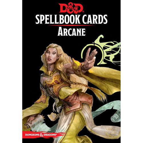 Buy Dungeons and Dragons 5th Edition - Spellbook Cards - 2nd Edition - Arcane and more Great RPG Products at 401 Games
