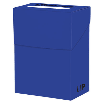 Buy Ultra Pro - Deck Box 80ct - Pacific Blue and more Great Sleeves & Supplies Products at 401 Games