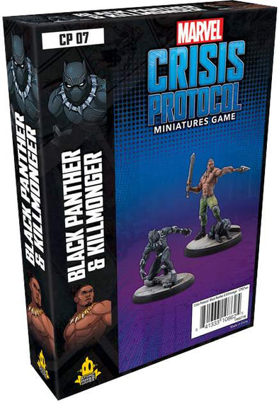 Marvel - Crisis Protocol - Black Panther & Killmonger - 401 Games