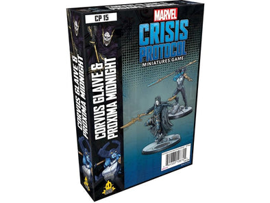 Marvel - Crisis Protocol - Corvus Glaive & Proxima Midnight available at 401 Games Canada