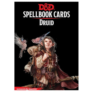 Dungeons and Dragons 5th Edition - Spellbook Cards - 2nd Edition - Druid - 401 Games