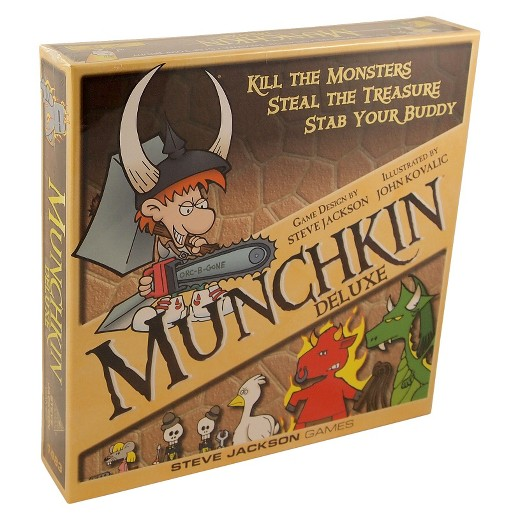 Munchkin Deluxe available at 401 Games Canada
