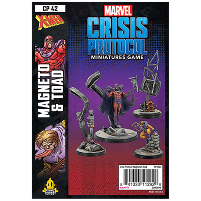 Marvel - Crisis Protocol - Magneto and Toad available at 401 Games Canada