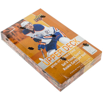 2016-17 Upper Deck Series 1 Hockey Hobby Box available at 401 Games Canada