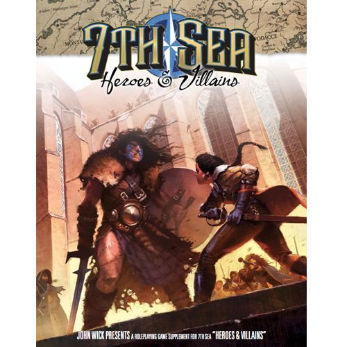 7th Sea - Heroes and Villians - 401 Games