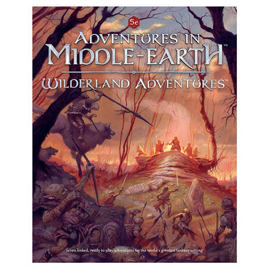 Buy Dungeons and Dragons - 5th Edition - Adventures in Middle-Earth - Wilderland Adventures and more Great RPG Products at 401 Games