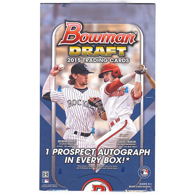 Buy 2015 Bowman Draft Baseball Hobby Box and more Great Sports Cards Products at 401 Games