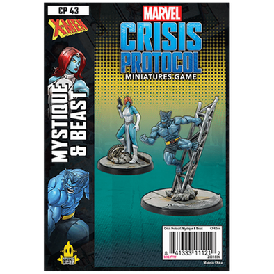 Marvel Crisis Protocol - Beast and Mystique - 401 Games