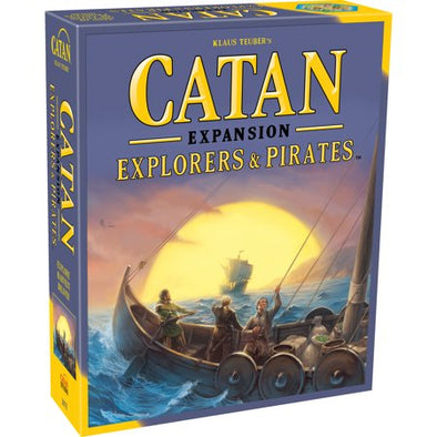 Catan 5th Edition - Explorers & Pirates available at 401 Games Canada