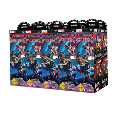 Buy Heroclix - Marvel Secret Wars Battleworld Booster Brick and more Great Heroclix Products at 401 Games