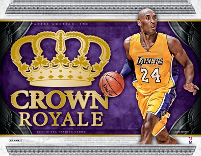 2017-18 Panini Crown Royale Basketball Hobby Box - 401 Games
