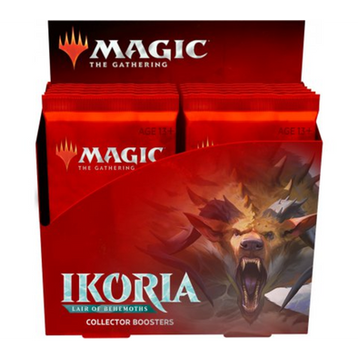MTG - Ikoria Lair of Behemoths - Collector Booster Box ( Includes Promo Pack ! ) - 401 Games