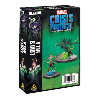 Marvel - Crisis Protocol - Loki & Hela available at 401 Games Canada