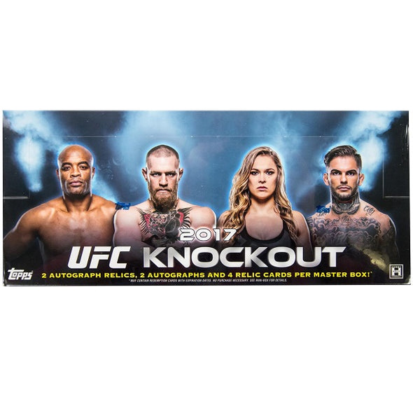 2017 Topps UFC Knockout Hobby Box - 401 Games