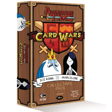 Buy Adventure Time Card Wars - Ice King vs Marceline and more Great Board Games Products at 401 Games