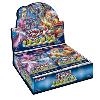 Yugioh - Genesis Impact Booster Case 1st Edition (Box of 12) available at 401 Games Canada