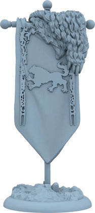 A Song of Ice and Fire - Tabletop Miniatures Game - House Stark - Deluxe Activation Banner - 401 Games