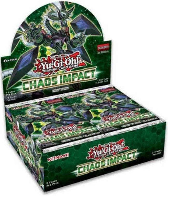 Yugioh - Chaos Impact Booster Box (Pre-Order Oct 24, 2019)