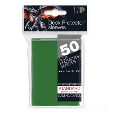 Buy Ultra Pro - Standard Card Sleeves 50ct - Green and more Great Sleeves & Supplies Products at 401 Games