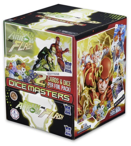 Dice Masters - DC Green Arrow and The Flash - Gravity Feed Booster Box 90CT available at 401 Games Canada