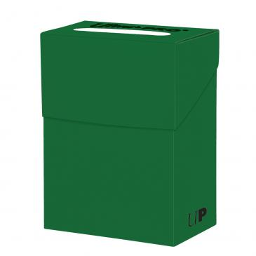 Buy Ultra Pro - Deck Box 80ct - Green and more Great Sleeves & Supplies Products at 401 Games
