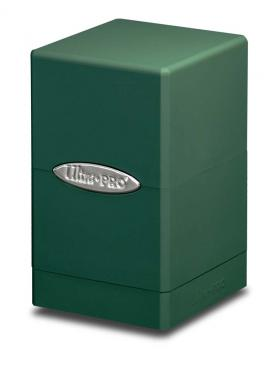 Buy Ultra Pro - Deck Box 100+ Satin Tower - Green and more Great Sleeves & Supplies Products at 401 Games