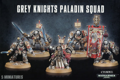 Buy Warhammer 40,000 - Grey Knights - Grey Knights Paladin Squad and more Great Games Workshop Products at 401 Games