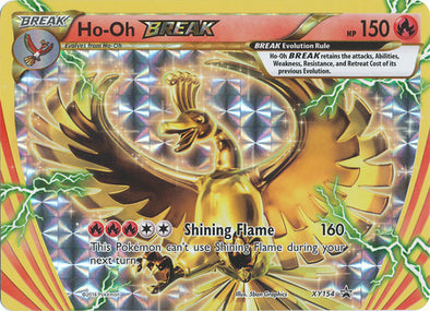 Buy Ho-Oh BREAK - XY154 and more Great Pokemon Products at 401 Games