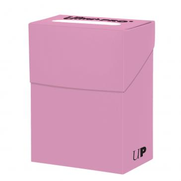 Ultra Pro - Deck Box 80ct - Pink available at 401 Games Canada
