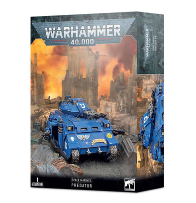 Warhammer 40,000 - Space Marines - Space Marine Predator available at 401 Games Canada