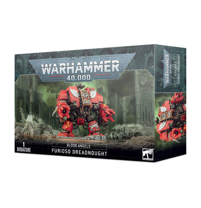Warhammer 40,000 - Blood Angels - Blood Angels Furioso Dreadnought available at 401 Games Canada