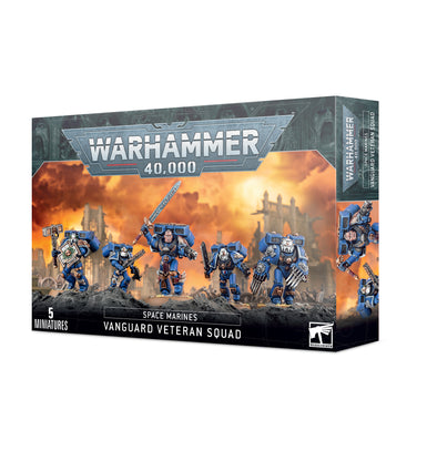 Warhammer 40,000 - Space Marines - Vanguard Veteran Squad available at 401 Games Canada