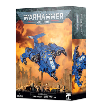 Warhammer 40,000 - Space Marines - Space Marine Stormhawk Interceptor available at 401 Games Canada